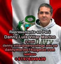 Representante en Perú - Danny Luis Villar Merino