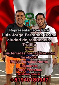 Representante en Perú - Luis Jorge Ferradas Horna