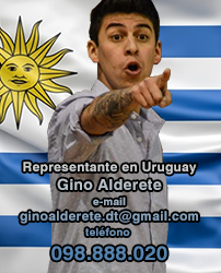 Representante en Uruguay - Gino Alderete