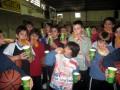 Huevo Sánchez  Album: Campus Invierno 2007  Los mini merendando
