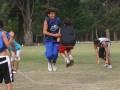 Huevo Sánchez  Album: Campus Verano 2008  Febrero, día 3. Trabajos de motricidad con cuerda aseguran saltar mejor.