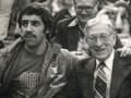 Huevo Sánchez  Album: Mis Fotos  Con Jonh Wooden, el Procer (Indianápolis, 1980)
