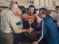 Huevo Sánchez  Album: Mis Fotos  Con Deán Petersen (un grande) en el Congreso sudamericano de San Pablo Brasil 1979