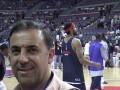Huevo Sánchez  Album: NBA 2005  En la arena de Detroit Pistons