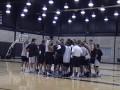 Huevo Sánchez  Album: NBA 2005  Ultima práctica de los Spurs (7mo juego)