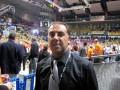Huevo Sánchez  Album: Euroliga 2008  En el estadio