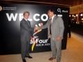 Huevo Sánchez  Album: Euroliga 2009  Fiesta Euroliga, con el Presidente de los Entrenadores de España y Europa, Juan Gavalda Robert