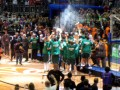 Huevo Sánchez  Album: Euroliga 2009  Los Griego de Panathinaikos en el podio