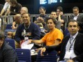 Huevo Sánchez  Album: Euroliga 2009  Con Casalanguida viendo Euroliga Jr.