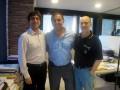 Huevo Sánchez  Album: Euroliga 2011  En las oficinas de la ACB