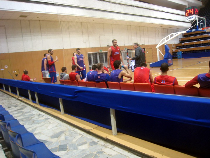 Huevo Sánchez  Práctica CSKA  Album: Moscú 2012  Dimensiones: 720x540
