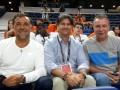 Huevo Sánchez  Album: Serbia y Euroliga 2015  Con mi amigo argentino Claudio Vitagliano (Refereeing Senior Manager de Euroliga) y el gran Ruben Magnano