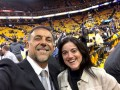 Huevo Sánchez  Album: Finales NBA 2017  Con Florencia Cordero