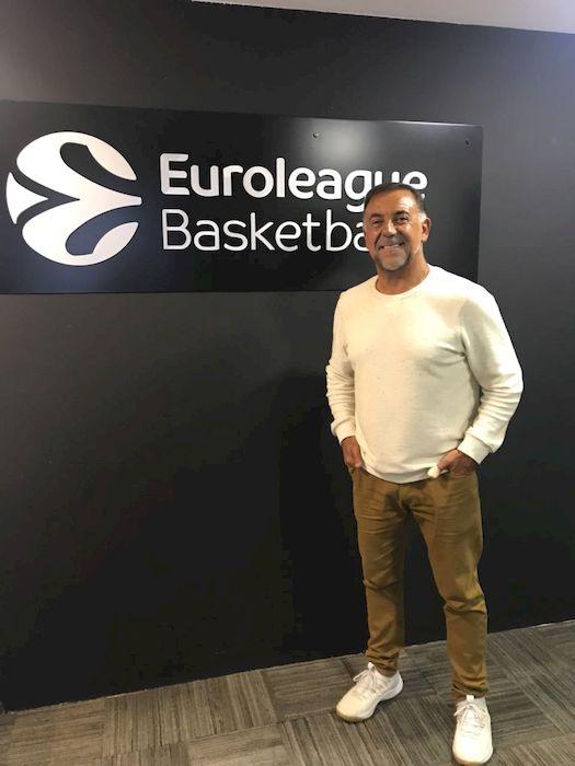 Huevo Sánchez  Album: Euroliga 2018  Dimensiones: 525x700