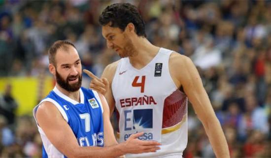 Spanoulis y Gasol Se enfrentarán en Cuartos de Final del Eurobasket.